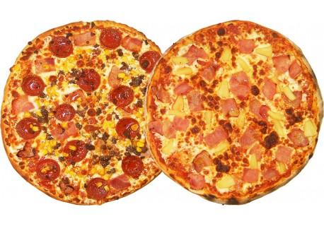 Dos Pizzas Medianas por 16,80€